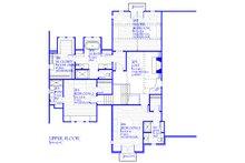 Tudor Floor Plan - Upper Floor Plan Plan #901-141