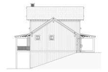 Dream House Plan - Farmhouse Exterior - Other Elevation Plan #901-11