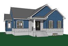 House Design - Ranch Exterior - Front Elevation Plan #23-2616