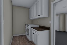 Traditional Interior - Laundry Plan #1060-60