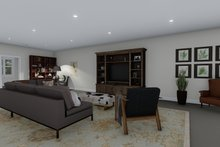 Dream House Plan - Farmhouse Interior - Family Room Plan #1060-83