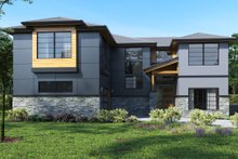 Dream House Plan - Contemporary Exterior - Front Elevation Plan #1066-49
