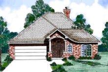 House Design - European Exterior - Front Elevation Plan #52-188