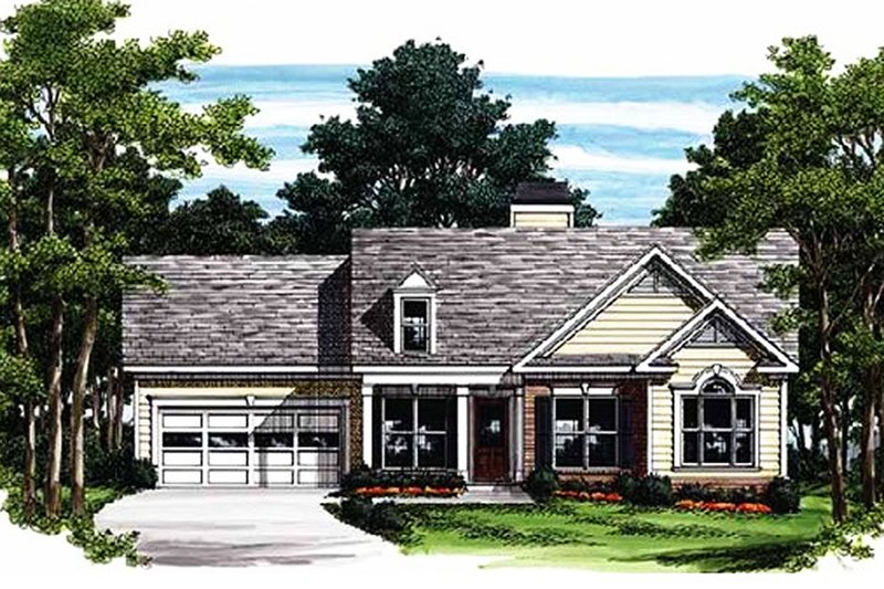House Plan Design - Traditional Exterior - Front Elevation Plan #927-309