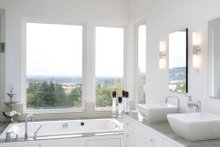 Beautiful Master Bath in a Modern Home