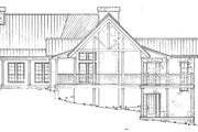 Country Style House Plan - 3 Beds 3 Baths 2491 Sq/Ft Plan #140-111 Exterior - Other Elevation