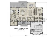Farmhouse Style House Plan - 4 Beds 4 Baths 3319 Sq/Ft Plan #51-1156 Floor Plan - Main Floor
