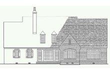 Architectural House Design - European Exterior - Rear Elevation Plan #137-227