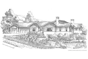 Traditional Exterior - Front Elevation Plan #490-29