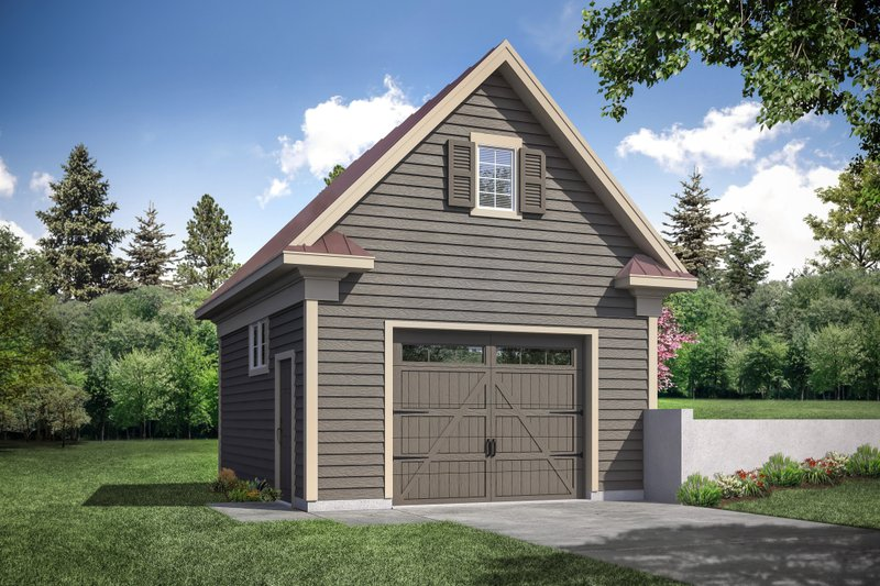 Home Plan - Country Exterior - Front Elevation Plan #124-1179