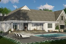 Home Plan - Farmhouse Exterior - Rear Elevation Plan #51-1133