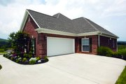 European Style House Plan - 4 Beds 2.5 Baths 2404 Sq/Ft Plan #472-12 Exterior - Other Elevation