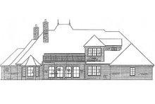 Home Plan - European Exterior - Rear Elevation Plan #310-678
