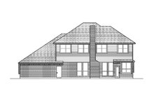 Country Exterior - Rear Elevation Plan #84-420