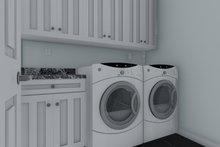 Traditional Interior - Laundry Plan #1060-68