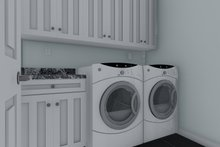 House Plan Design - Traditional Interior - Laundry Plan #1060-68
