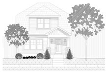 Craftsman Exterior - Front Elevation Plan #932-249