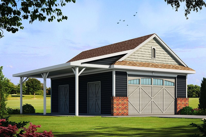 Architectural House Design - Traditional Exterior - Front Elevation Plan #20-2324