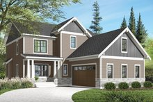 House Plan Design - Traditional Exterior - Front Elevation Plan #23-2557