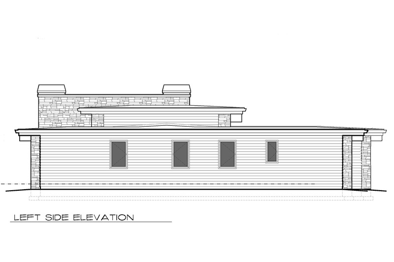 Modern Exterior - Other Elevation Plan #48-476 - Houseplans.com