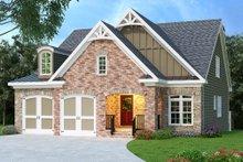 Dream House Plan - Craftsman Exterior - Front Elevation Plan #419-211