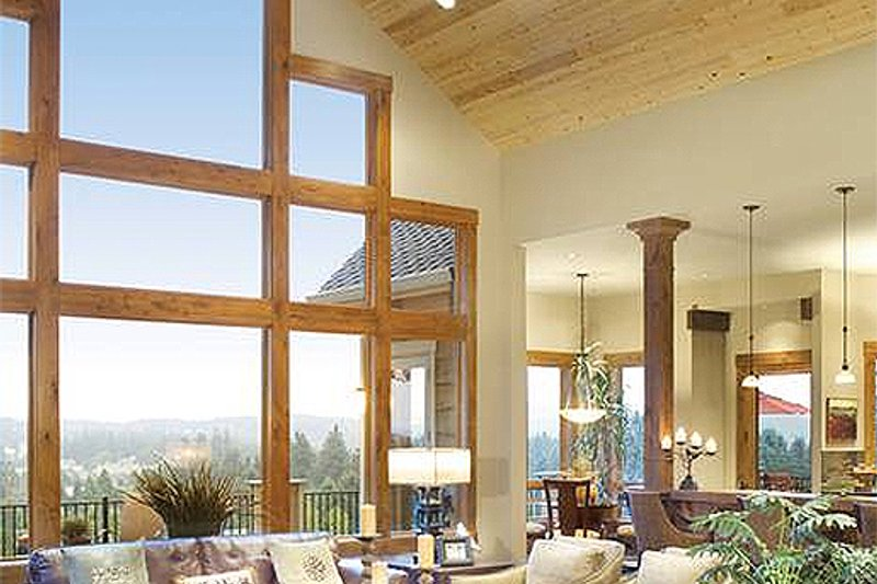 Great Room - 5100 Square foot Craftsman home