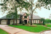 European Style House Plan - 5 Beds 4.5 Baths 4750 Sq/Ft Plan #72-195 Exterior - Other Elevation