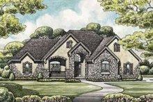 Dream House Plan - European Exterior - Front Elevation Plan #20-1868
