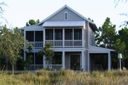 Beach Style House Plan - 4 Beds 4.5 Baths 2348 Sq/Ft Plan #443-2 Photo
