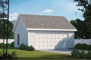 House Design - Traditional Exterior - Front Elevation Plan #20-2375