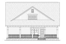 Craftsman Exterior - Rear Elevation Plan #21-263