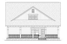 Home Plan - Craftsman Exterior - Rear Elevation Plan #21-263