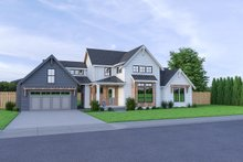 Dream House Plan - Farmhouse Exterior - Front Elevation Plan #1070-34