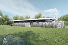House Plan Design - Modern Exterior - Front Elevation Plan #552-7