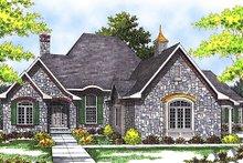 Home Plan Design - European Exterior - Front Elevation Plan #70-540