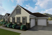 Ranch Exterior - Front Elevation Plan #1060-2