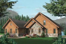 Craftsman Exterior - Front Elevation Plan #23-419