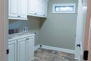 European Style House Plan - 4 Beds 2.5 Baths 2459 Sq/Ft Plan #430-139 Interior - Laundry