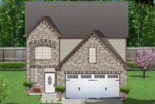 Home Plan - Traditional Exterior - Front Elevation Plan #84-571
