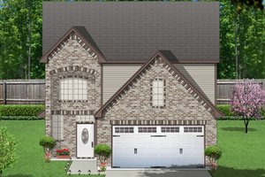 Traditional Exterior - Front Elevation Plan #84-571