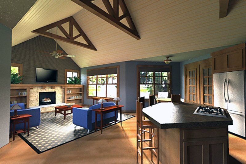 Craftsman Interior - Other Plan #51-518 - Houseplans.com