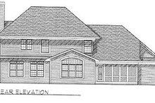 Modern Exterior - Rear Elevation Plan #70-439