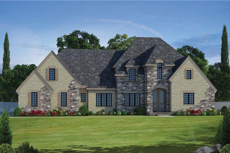 Dream House Plan - European Exterior - Front Elevation Plan #20-2276
