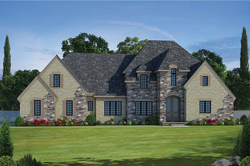 House Design - European Exterior - Front Elevation Plan #20-2276