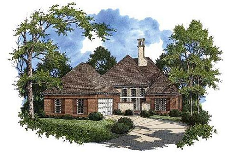 House Design - Southern Exterior - Front Elevation Plan #45-217