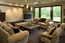 Home Plan - Traditional Interior - Family Room Plan #56-605