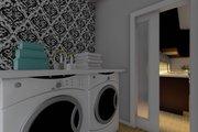 Farmhouse Style House Plan - 1 Beds 1.5 Baths 1024 Sq/Ft Plan #126-176 Interior - Laundry