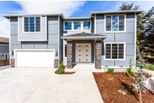Home Plan - Contemporary Exterior - Front Elevation Plan #1066-4