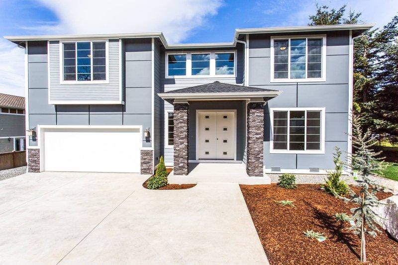 House Plan Design - Contemporary Exterior - Front Elevation Plan #1066-4