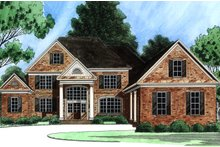 Home Plan - Traditional Exterior - Front Elevation Plan #1054-24